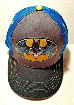 NEW Batman Baseball Cap Hat Adjustable Snapback Size Youth/T