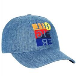 New Tommy Hilfiger Bondi Baseball Cap Hat Denim Blue Color B