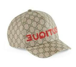 NEW GUCCI BOUTIQUE GG GUCCISSIMA SUPREME BASEBALL CAP HAT XX