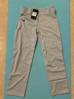 New Nike Boys Straight Leg Vapor Baseball Pants 747227-052 G