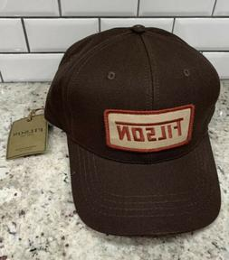 new brown logger baseball hat ball cap