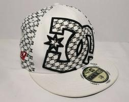 DC Shoes New Era Kids Baseball Cap White/Black - 59 Fifty -
