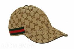 NEW GUCCI HAT Khaki,MEN'S/WOMEN,CANVAS BASEBALL CAP,ADJUSTAB