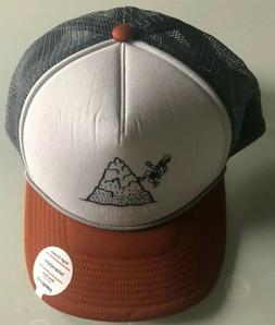 NEW Patagonia Hoofin It P-6 Logo Trucker Hat Cap - Adjustabl