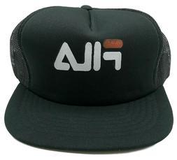 New Fila Logo Baseball Cap Snapback Hat One Size Fits All