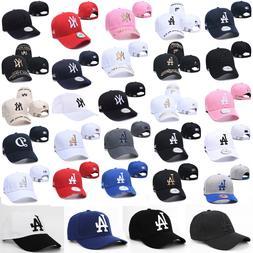 NEW Los Angeles Dodgers Hat Embroidered Mens Women Adjustabl