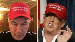 New MAGA in Russian Hat Make America Great Again Alec Baldwi