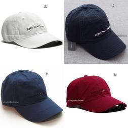 TOMMY HILFIGER NEW MEN'S BASEBALL CAP/HAT BLUE NAVY WHITE RE