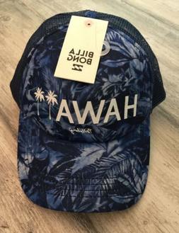 New! Billabong Mens Baseball Cap / Hat Hawaii Ajustable!