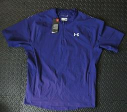 ee00feb9 New Under Armour Mens Short Sleeve Triumph Cage Jacket Baseb