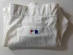 NEW Majestic MLB Adult Pro Style Baseball Pants Cuffed White