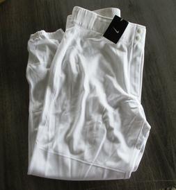 New NWT Nike Core Mens Baseball / Softball Pants White 37836