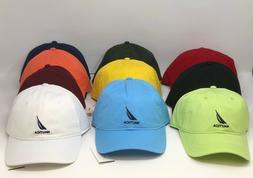 New With Tags Nautica Men Adjustable Logo Baseball Hat Cap -