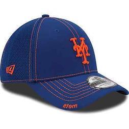 New Era New York Mets Royal Blue Neo 39THIRTY Stretch Fit Ha