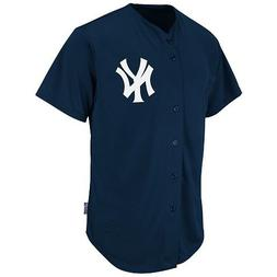 New York Yankees Full-Button BLANK BACK Major League Basebal