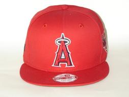 NewEra MLB California Angels Red Primary Fan Snapback Cap 9f