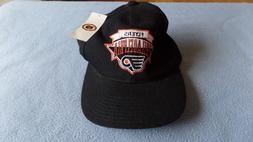 nhl philadelphia flyers baseball cap hat black
