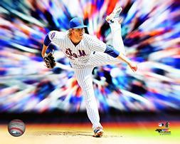 Noah Syndergaard New York Mets 2015 Motion Blast Action Phot