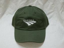 NWT AMTRAK TRAIN BASEBALL HAT CAP