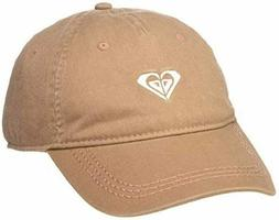 NWT Roxy Junior's Dear Believer Logo Chipmunk Tan Hat - OSFM