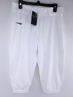 NWT Nike Men's Vapor Pro Slim Fit Baseball Pants White Size