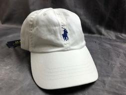 NWT New Polo Ralph Lauren Adjustable Strap Pony Logo Basebal