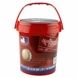 Rawlings Official Size Bucket Of 12 T Ball Baseballs Indoor