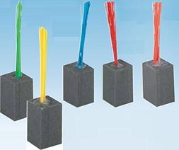 Yellow Bristles Major League Base Foam Plug
