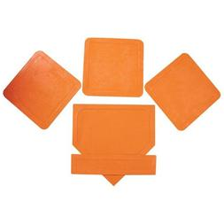 Orange Throw Down Bases