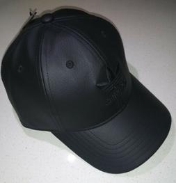 originals relaxed fit pu leather strapback cap