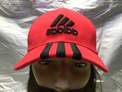 ADIDAS Originals Strapback Baseball Cap Red w/Black Embroide