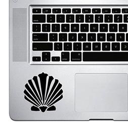StickAny Palm Series SeaShell Sticker for Macbook Pro, Chrom