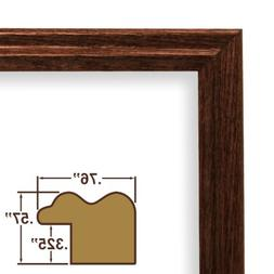 "21x30 Picture / Poster Frame, Wood Grain Finish, .75"" Wide,"
