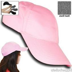 pink self defense baseball hat cap low