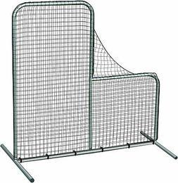 "Pitcher's Safety L-Screen - 7'x7' w/ 40"" Drop"