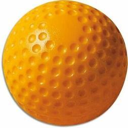 Pitching Machine Baseballs - MacGregor Dimpled Poly Yellow -