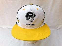 Pittsburgh Pirates Adjustable Strap Black, White, Yellow Bas