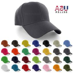 Plain Baseball Cap Solid Color Blank Cur
