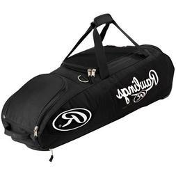 Rawlings Player Preferred Wheel Bag, Black