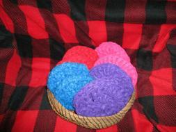 Pot Scrubbers Dish Scrubby Nylon Pot Scrubby, Crochet, Handm
