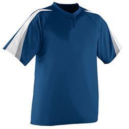Augusta Sportswear MEN'S POWER PLUS BASEBALL JERSEY S Navy/W