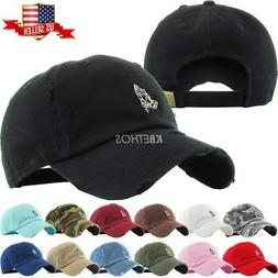 Praying Hands Rosary Embroidery Dad Hat Baseball Cap Unconst