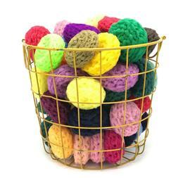 Premium Handmade Nylon Netting Dish Scrubbie for Kitchen Or