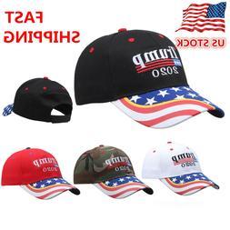 President Donald Trump 2020 Hat USA Flag Make America Great