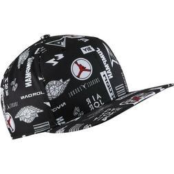 JORDAN Pro Graphic AOP Snapback Hat Cap Nike Air Flight Jump