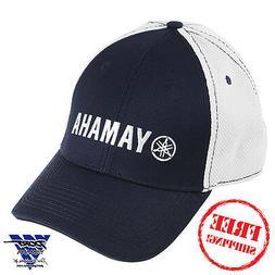 Yamaha Pure Contrast Hat Baseball Cap Navy White CRP-13HMS-N