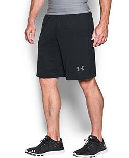 """Under Armour Men's Raid 10"""" Shorts, Black /Graphite, Medium"""
