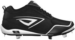 3N2 Women's Rally Baseball Shoes,Black/White,9.5 M US