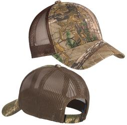 Realtree Xtra// Brown Camo Baseball Cap Hat Mid Structured Adjustable NEW!