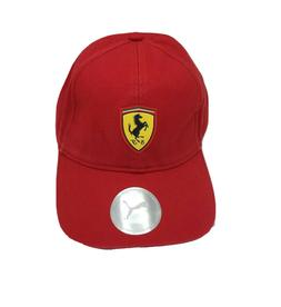 Red Puma Ferrari Adjustable Fanwear Baseball Sport Cap
